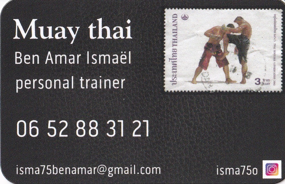 Bookingtherapeute-dot-com Carte Isma Muay thai